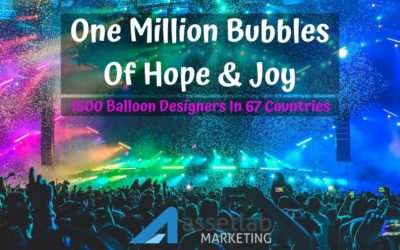 Spreading One Million Bubbles Like Fire