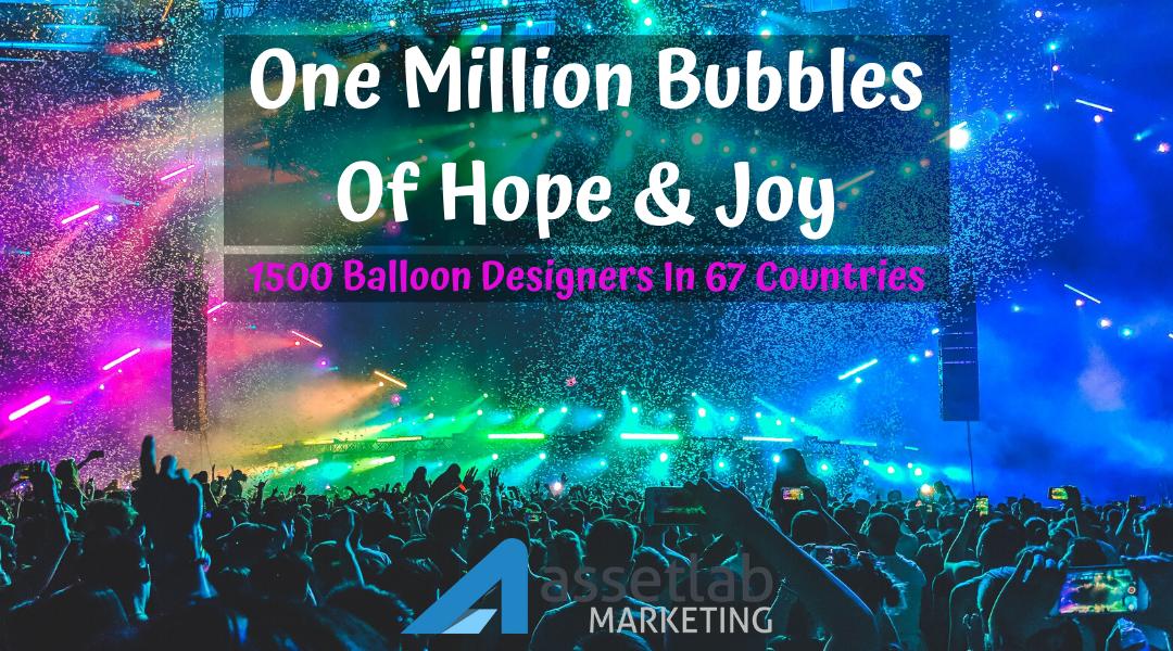 Spreading One Million Bubbles Like Fire